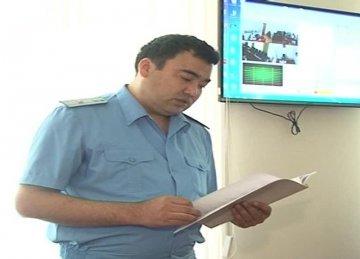 Мурат Ибраев, старший прокурор управления по надзору за законностью судебных актов и представительства интересов государства по уголовным делам прокуратуры ЮКО