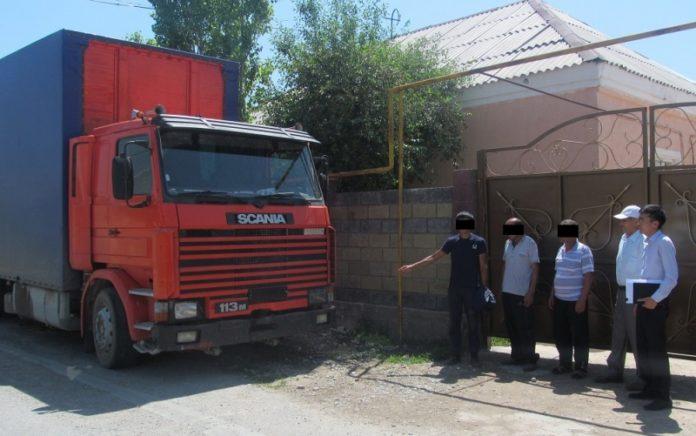В Шымкенте пойман