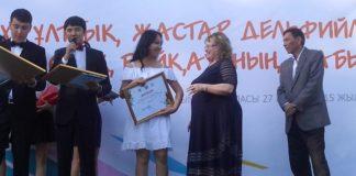 Виктория стала серебренной медалисткой Дельфийских игр