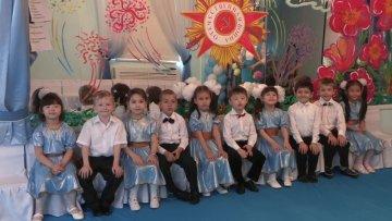 Воспитанники детского сада поздравили ветеранов