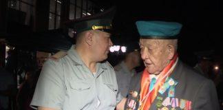 В Шымкенте встречают ветеранов