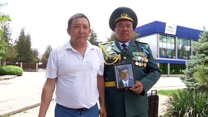 Захоронение воина из Шымкента нашли в Московской области