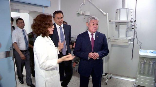 В Шымкент с рабочим визитом прибыл Бердибек Сапарбаев