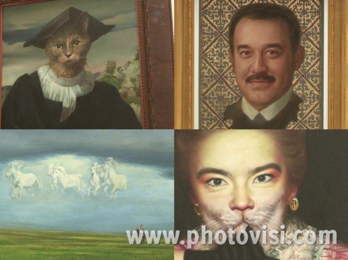 Работы художника Никаса Сафронова