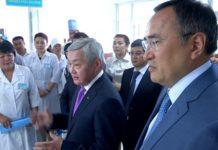 Вице-премьер РК Бердибек Сапарбаев посетил Туркестан