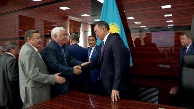 Главой ЮКО вновь избран Аскар Мырзахметов