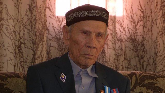 Жусип Тулешов, ветеран ВОВ
