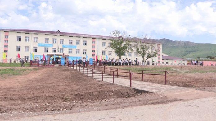 Специализированная школа-интернат открылась в Казыгуртском районе ЮКО