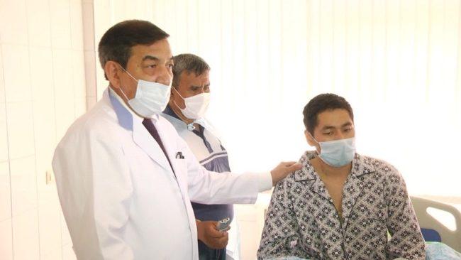 Вторая операция по пересадке печени прошла в Шымкенте