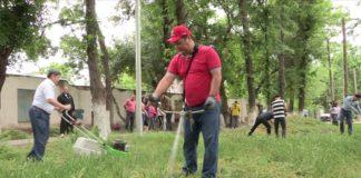 В Шымкенте в минувшие выходные прошел общегородской субботник