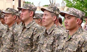 50 новобранцев из ЮКО пополнят ряды аэромобильных войск РК