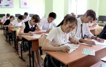В шымкентских школах продолжают готовиться к ЕНТ