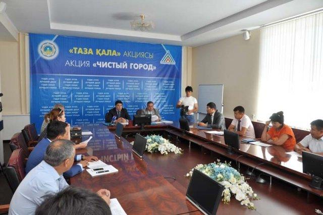 В Шымкенте началась акция «Чистый город»