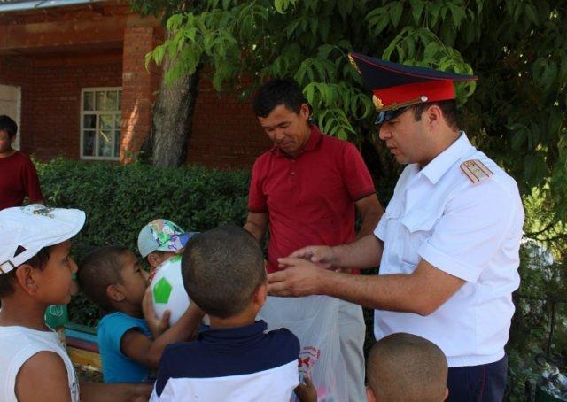 В Каратауском районе открыли еще один пункт полиции