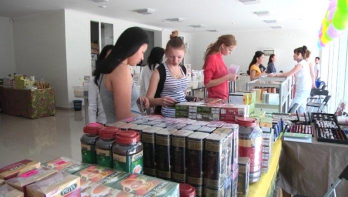 Выставка товаров из Индии проходит в Шымкенте