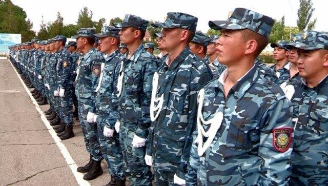 Более сотни сержантов школы МВД готовы охранять покой мирных граждан