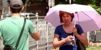 Летняя жара в Шымкенте