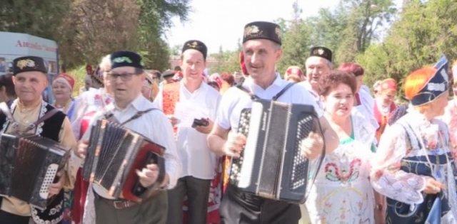 """В Шымкенте отпраздновали  """"Сабантуй"""""""