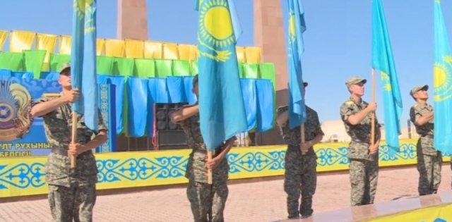 В Шымкенте отметили День государственных символов Республики Казахстан