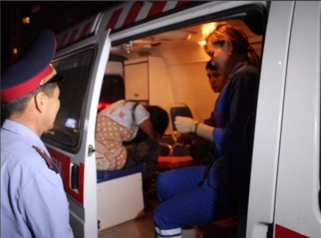 В Шымкенте полицейские спасли девушку от попытки суицида