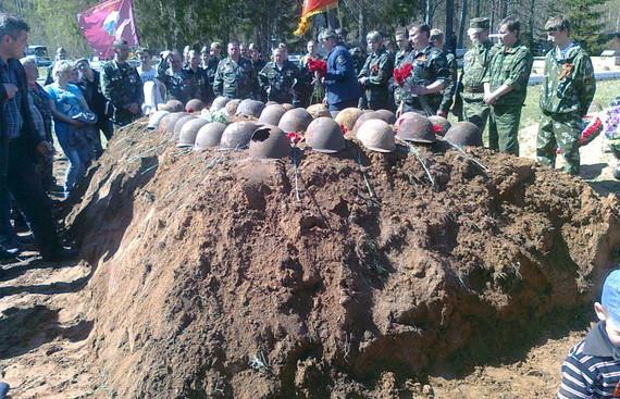 Останки трех казахстанских солдат были найдены в РФ