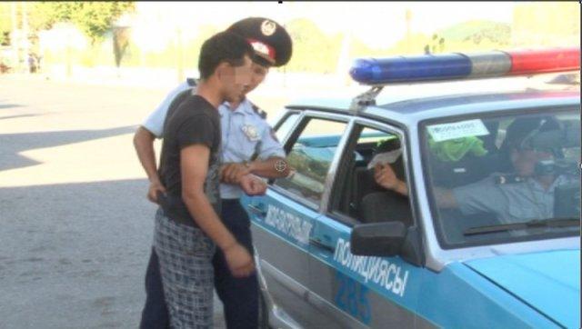В Туркестане задержана преступная группа, промышлявшая кражами