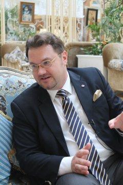 Андрей Анатольевич Новиков-Ланской, президент Международного пушкинского клуба