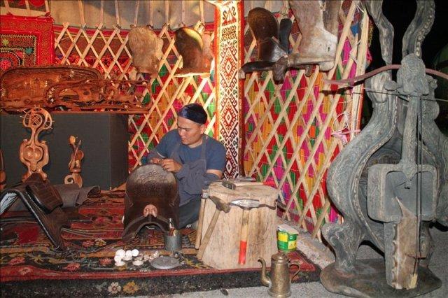 вечер казахской и русской культуры