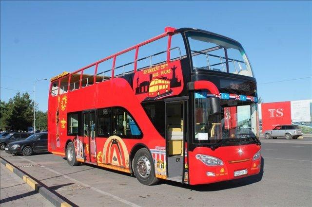 В Шымкенте появились экскурсионные автобусы