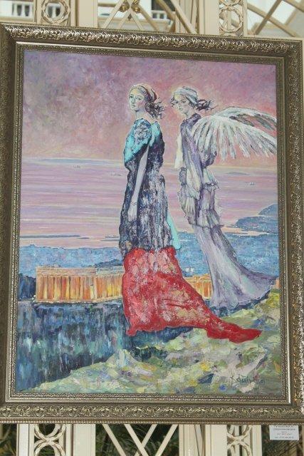 Персональная выставка Натальи Кашириной проходит в Шымкенте