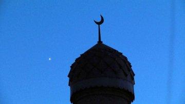 Мечеть. Купол. Полумесяц. Ислам