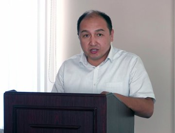 Касымбек Сайлауов, руководитель отдела земельных отношений