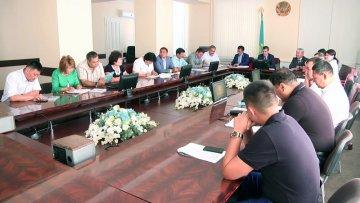 Заседание постоянной комиссии городского маслихата
