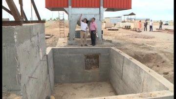 В Отырарском районе открывается завод по сушке и хранению кукурузы