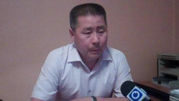 Абдумалик Койшебаев, начальник отдела расследования ДВД ЮКО