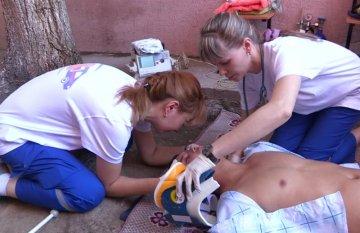 В Шымкенте прошли соревнования среди работников скорой медицинской помощи