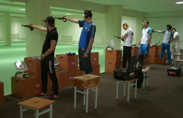 В Шымкенте стартовали республиканские соревнования по пулевой стрельбе