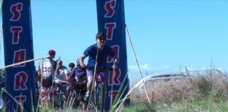 В Шымкенте прошла первая велогонка кросс-кантри