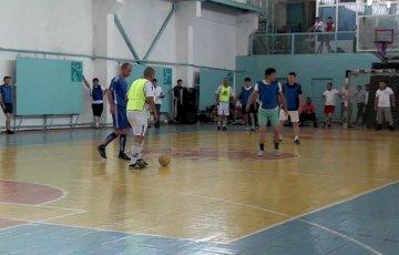 Сотрудники УВД Шымкента померились силами в мини-футболе
