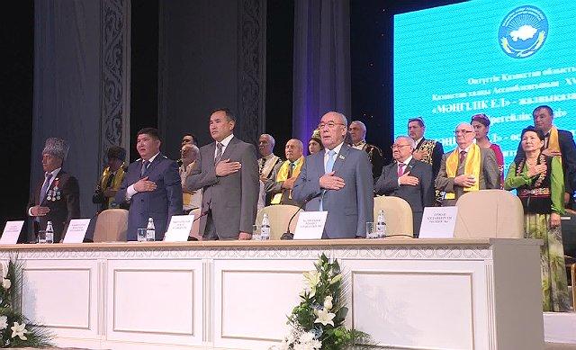 В Шымкенте прошла XVIII сессия ассамблеи народа Казахстана ЮКО