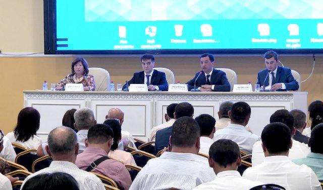 В Шымкенте прошел региональный форум малого и среднего предпринимательства