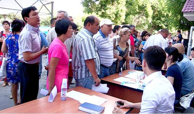 Летняя ярмарка вакансий состоялась в Шымкенте