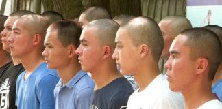 Новобранцев из ЮКО проводили в армию