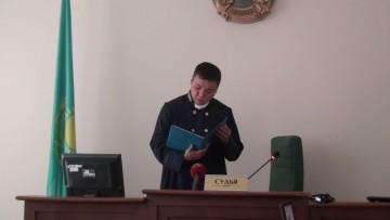 Даурен Мадалиев, судья межрайонного специализированного межрайонного суда