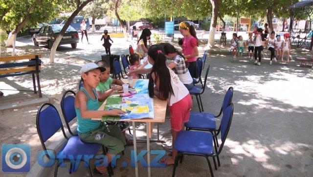 В Шымкенте дети посещают дворовые клубы