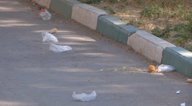 Шымкентцы жалуются на мусор у истоков Кошкараты