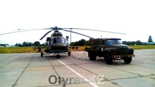 Вертолет рассчитан на 26 десантников и 1 медработника