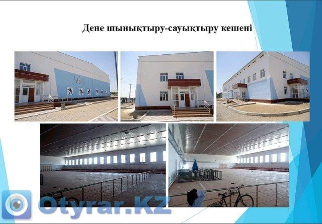 Эскиз строящегося спортивного комплекса в г. Сарыагаш