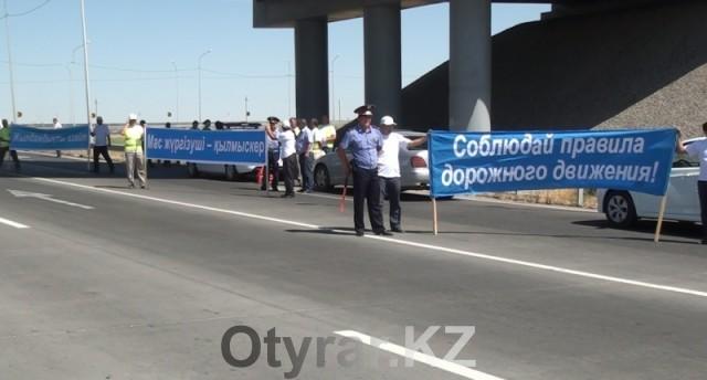 За двое суток в Шымкенте выявлено более 500 нарушений ПДД