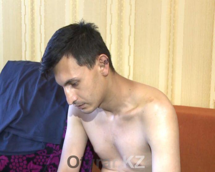 Избитый бизнесменом Тахир Тахтаходжаев